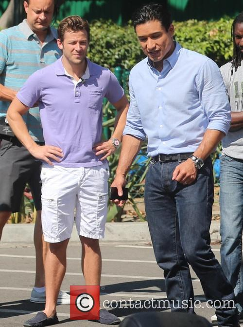 Marco Andretti and Mario Lopez 2