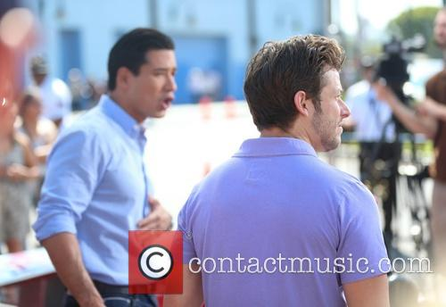 Marco Andretti and Mario Lopez 4
