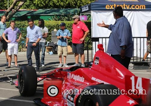 Marco Andretti and Mario Lopez 9