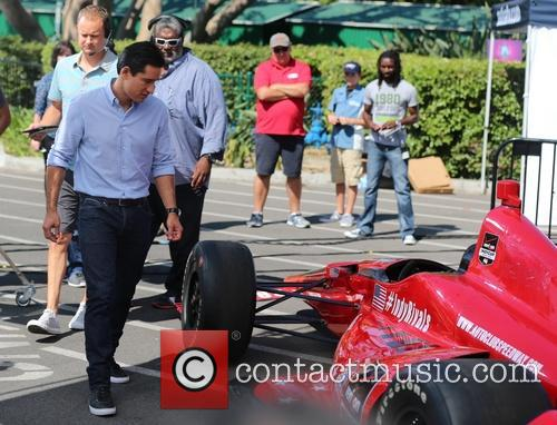 mario lopez marco andretti appears on extra 4332599
