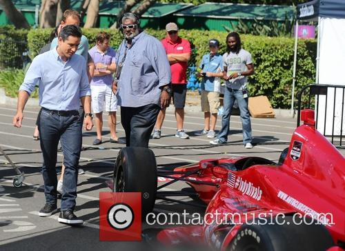 mario lopez marco andretti appears on extra 4332614