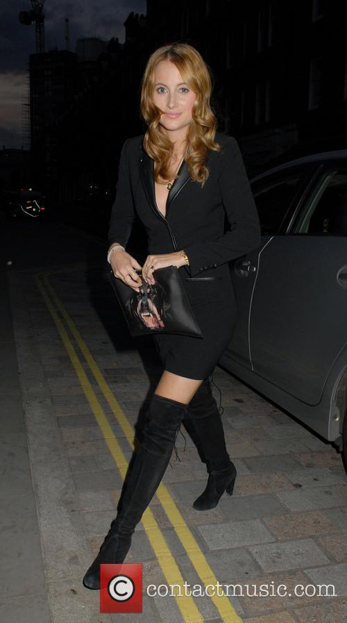 Celebrities arrive at Chiltern Firehouse