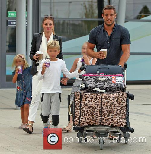 Chloe Sims and Elliott Wright arrive at Southend...