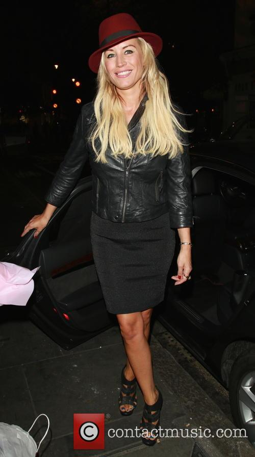 Denise Van Outen leaves the Arts Theatre