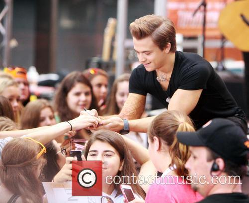Hunter Hayes performs on 'The Today Show' concert...
