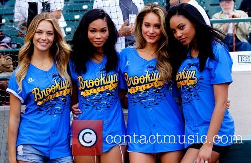 Sports Illustrated Swimsuit models appear at 'The Brooklyn...