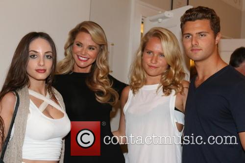 Alexa Ray Joel, Christie Brinkley, Sailor Cook and Jack Cook 2