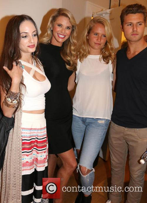Alexa Ray Joel, Christie Brinkley, Sailor Cook and Jack Cook 3