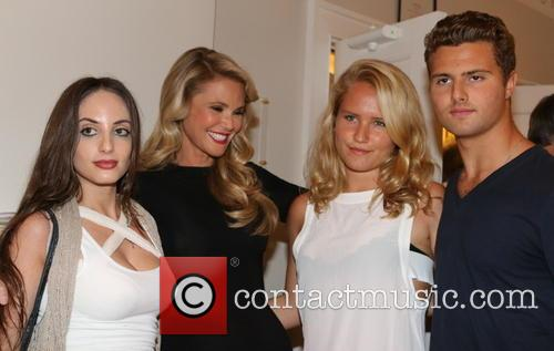 Alexa Ray Joel, Christie Brinkley, Sailor Cook and Jack Cook 1