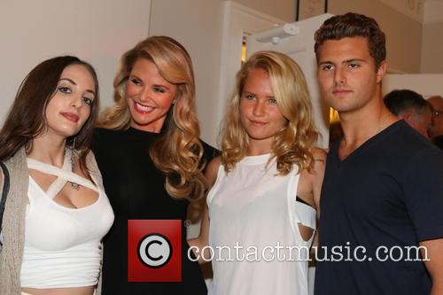 Alexa Ray Joel, Christie Brinkley, Sailor Cook and Jack Cook 4