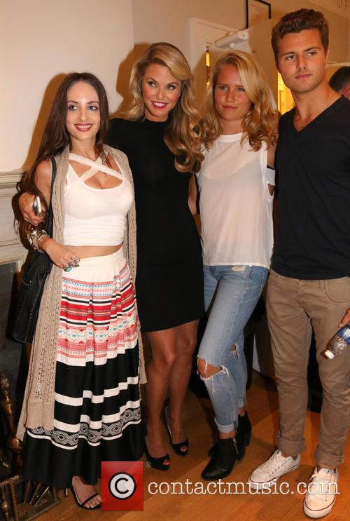 Alexa Ray Joel, Christie Brinkley, Sailor Cook and Jack Cook 5