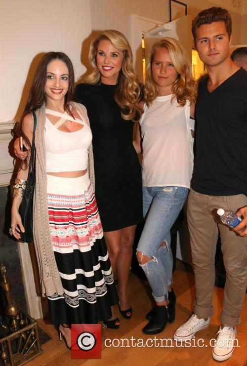 Alexa Ray Joel, Christie Brinkley, Sailor Cook and Jack Cook 6