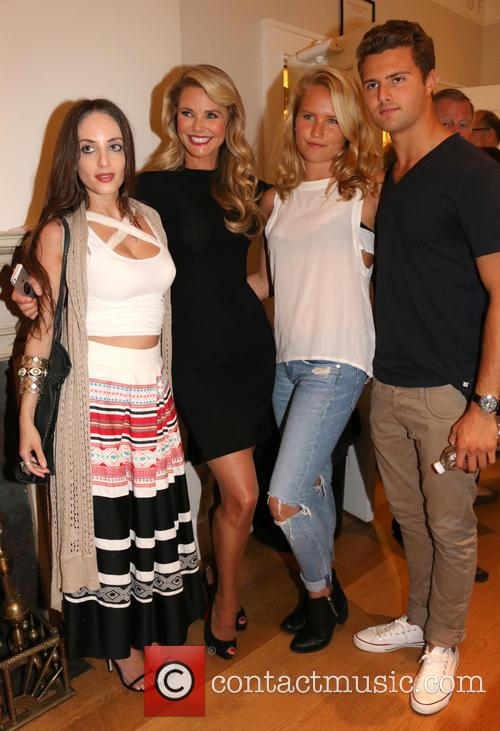Alexa Ray Joel, Christie Brinkley, Sailor Cook and Jack Cook 7