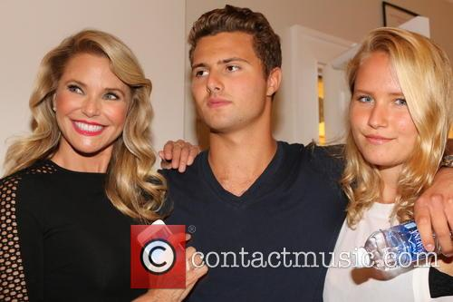 Christie Brinkley, Sailor Cook and Jack Cook 3