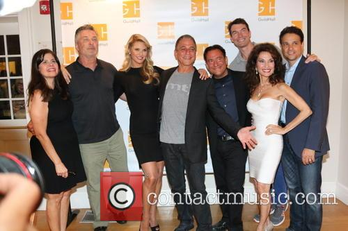 Dayle Reyfel, Alec Baldwin, Christie Brinkley, Tony Danza, Eugene Pack, Susan Lucci and Ralph Macchio 2