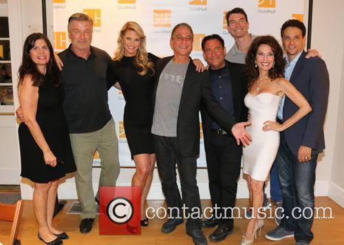 Alec Baldwin, Dayle Reyfel, Christie Brinkley, Tony Danza, Eugene Pack, Susan Lucci and Ralph Macchio 3