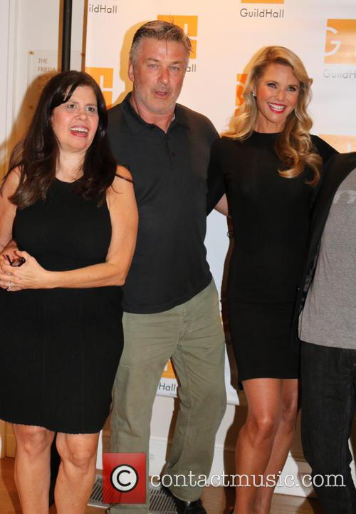 Dayle Reyfel, Alec Baldwin and Christie Brinkly 5