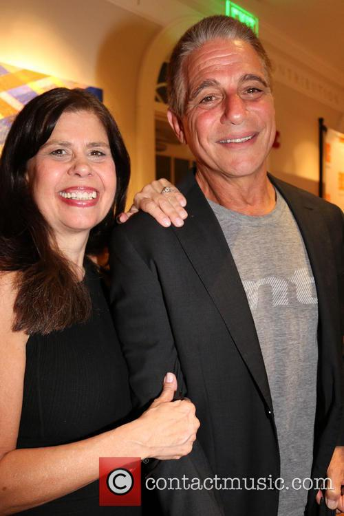 Dayle Reyfel and Tony Danza 1