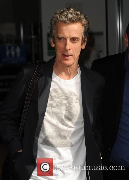 peter capaldi celebrities at bbc radio 2 4333698