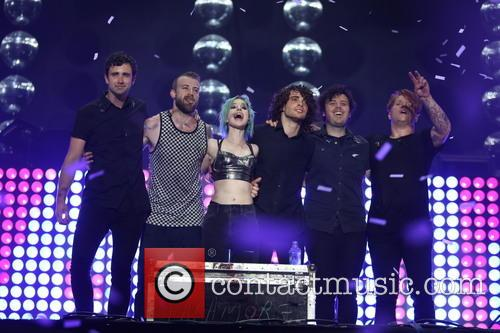 Hayley Williams and Paramore 5