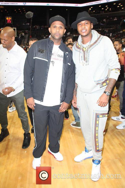 Cc Sabathia and Carmelo Anthony 1