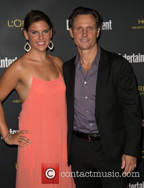 Anna Musky-goldwyn and Tony Goldwyn 1