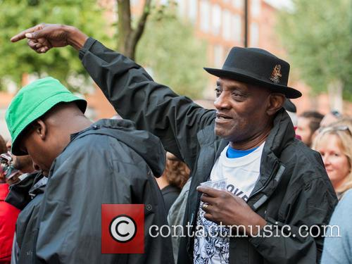 Darcus Howe attends the National Panorama Competition at...