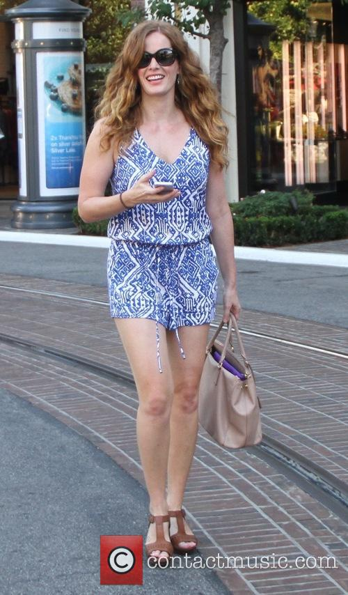 Rebecca Mader shops at The Grove