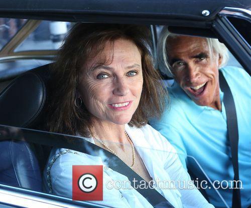 Jacqueline Bisset and Nicky Butler 1