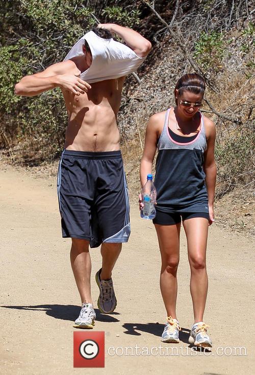 Lea Michele and Matthew Paetz 9