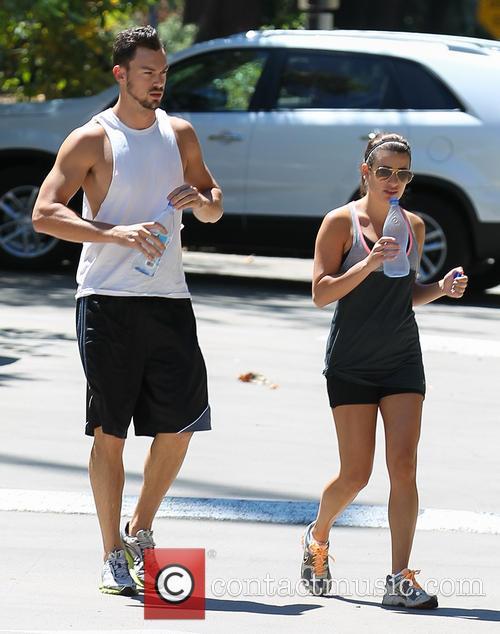 Lea Michele and Matthew Paetz 10