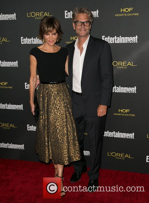 Lisa Rinna, Harry Hamlin, Fig & Olive