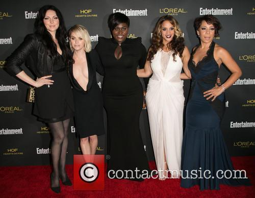 Laura Prepon, Taryn Manning, Danielle Brooks, Dascha Polanco and Selenis Leyva