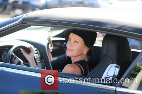 Melanie Griffith shops at Maxfield