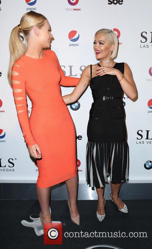 Iggy Azalea and Rita Ora 2