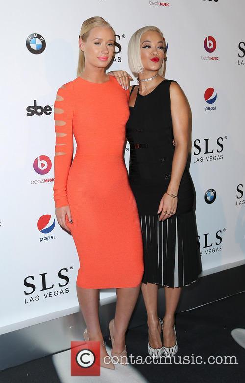 Iggy Azalea, Rita Ora, SLS Las Vegas