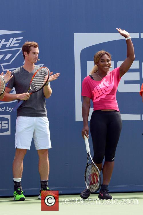 Andy Murray and Serena Williams 6