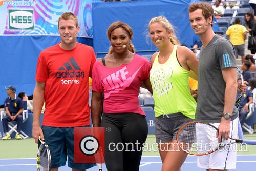 Jack Sock, Serena Williams, Victoria Azarenka and Andy Murray 3