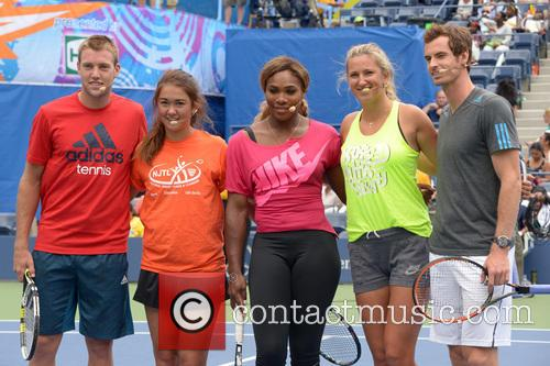 Jack Sock, Serena Williams, Victoria Azarenka and Andy Murray 5