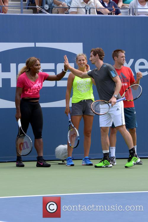 Serena Williams and Andy Murray 3