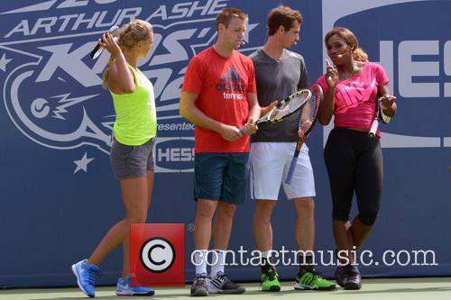 Victoria Azarenka, Jack Sock, Andy Murray and Serena Williams 10