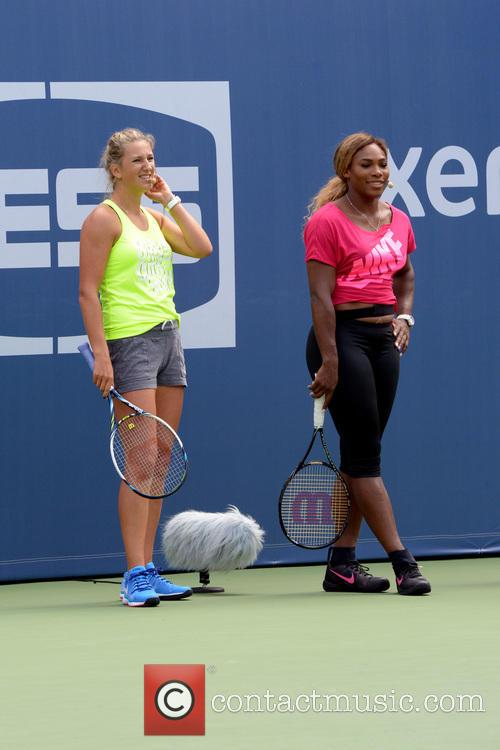 Victoria Azarenka and Serena Williams 1