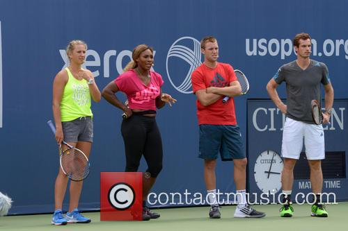 Victoria Azarenka, Serena Williams, Jack Sock and Andy Murray 6