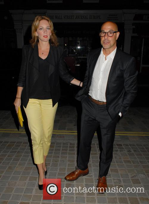 Celebrities arrive at Chiltern Firehouse restaurant