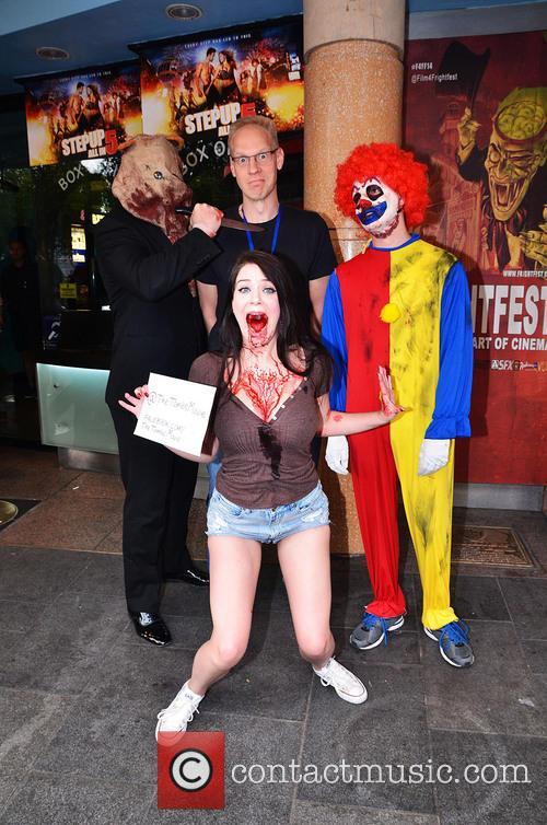 Screening of the banned horror movie, Nekromantik