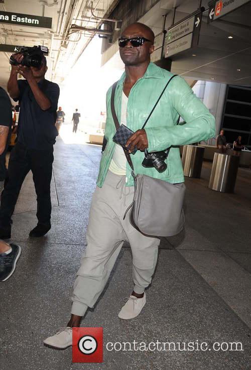 Seal arriving at Los Angeles International Airport