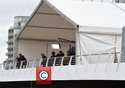 Samuel Beckett Bridge closed as U2 record new...