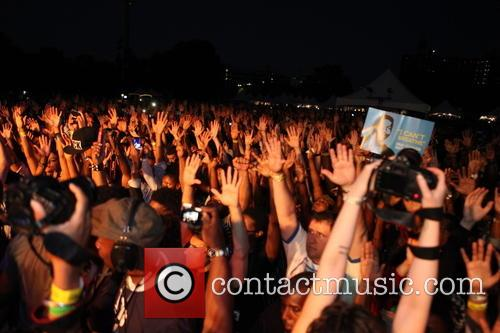 Crowd, Puts Up Their Hand For and Ferguson 1