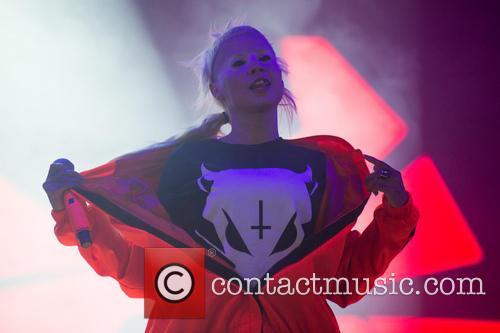 Die Antwoord perform at Leeds festival