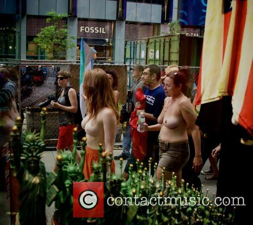 GoTopless Day 2014